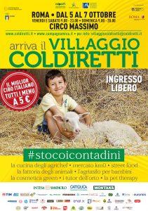 Il Villaggio Coldiretti dal 5 al 7 Ottobre @ CIRCO MASSIMO